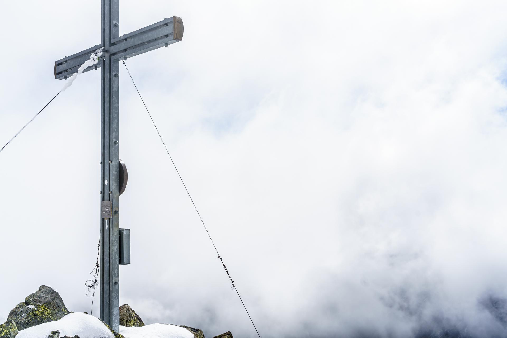 Rinnenspitze-Seven-Summits-Gipfelkreuz