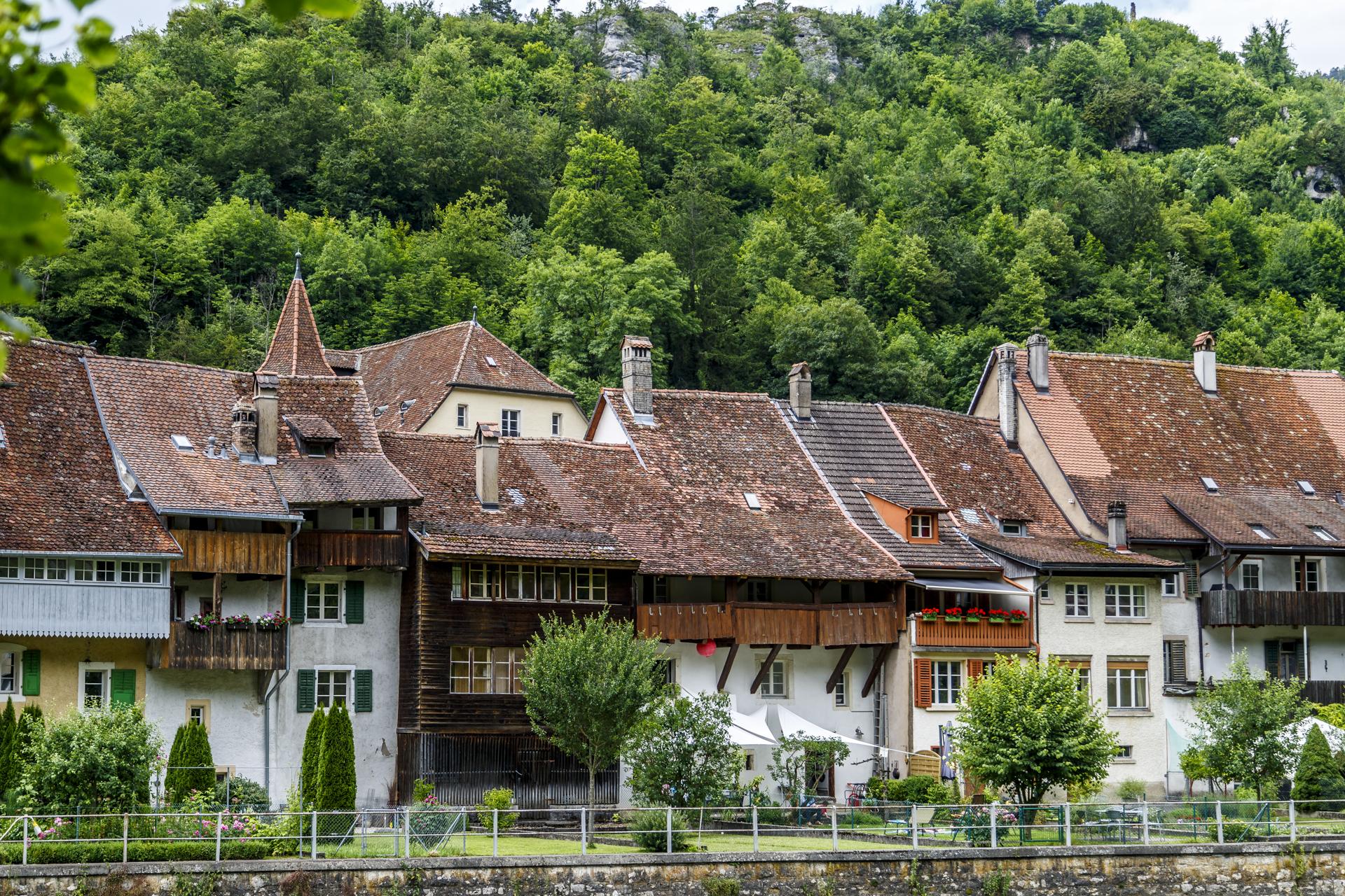 Saint-Ursanne-Altstadt
