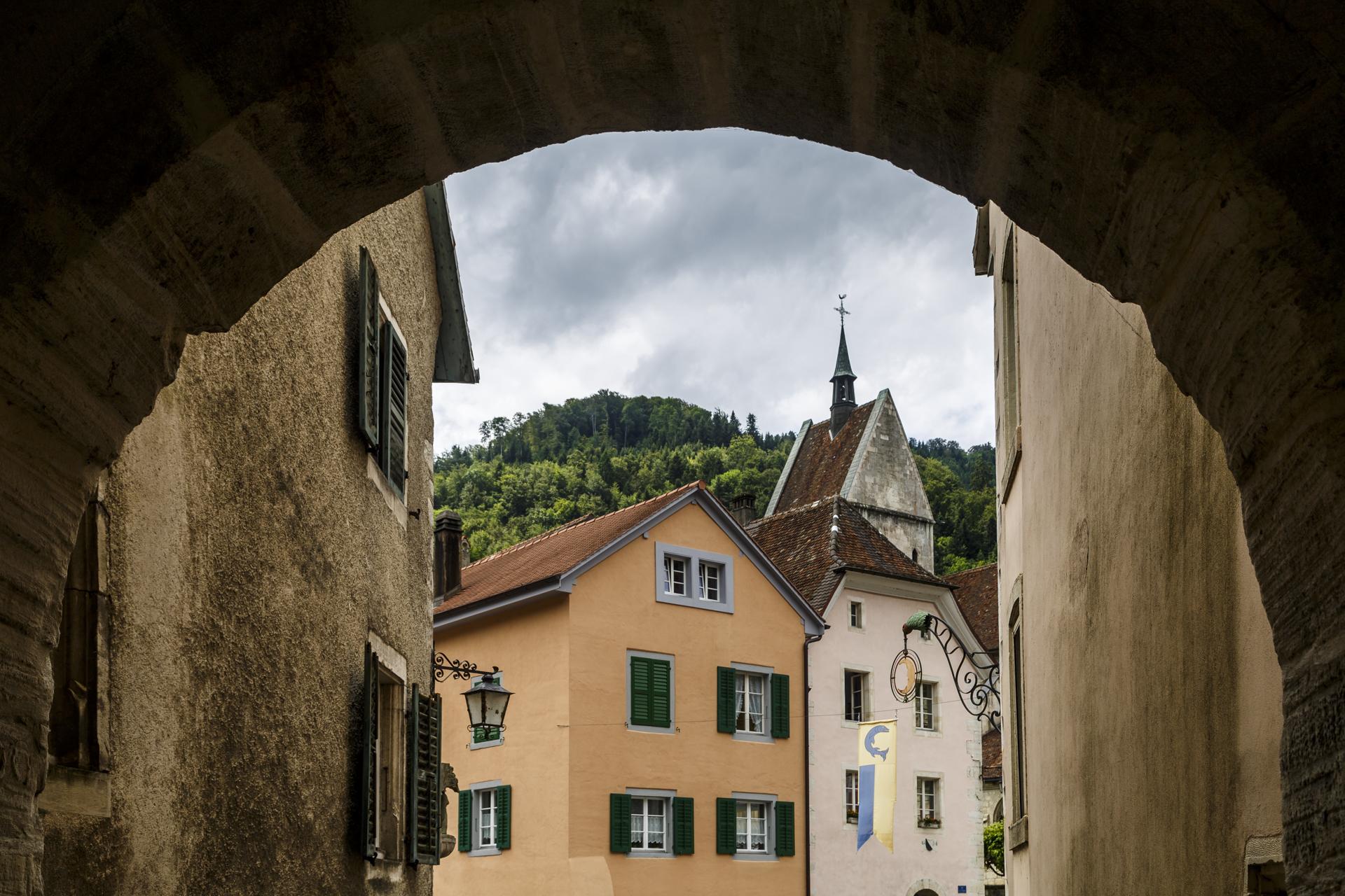 Saint-Ursanne-Stadttor