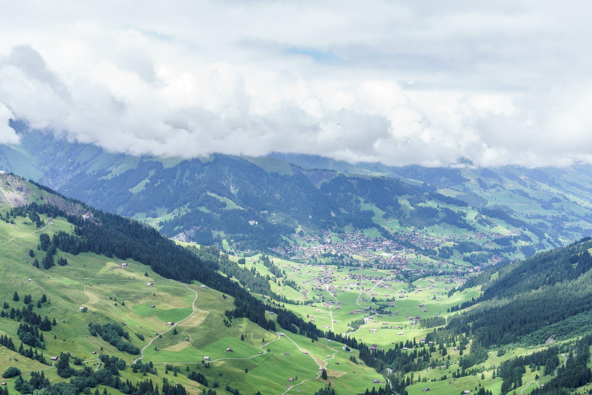 Aussicht-Adelboden-Berner-Oberland