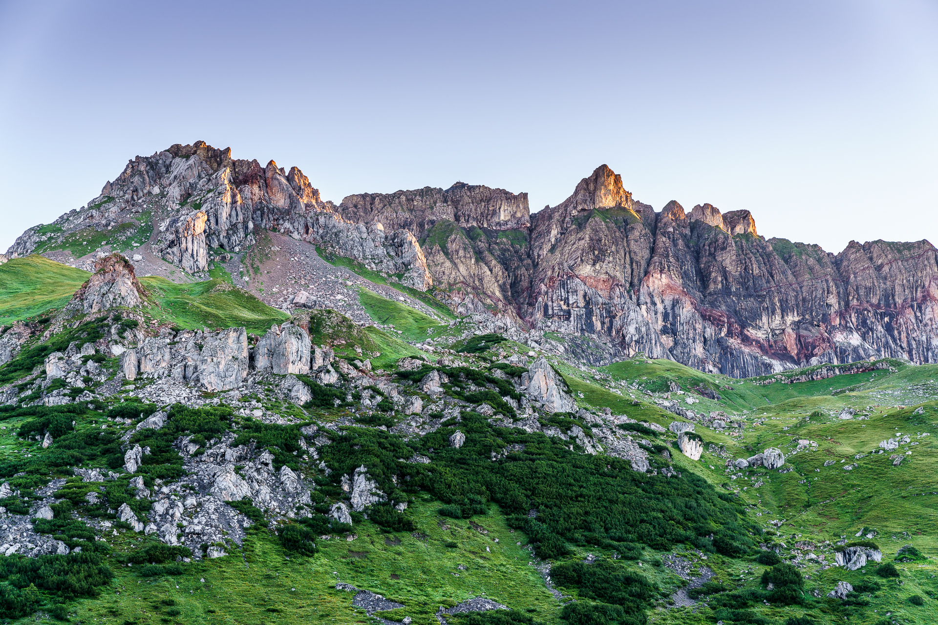 Rote-Wand-Lechquellengebirge