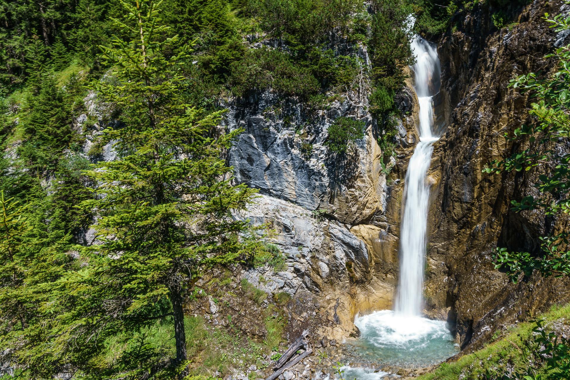 Wasserfall-Klostertal-Vorarlberg