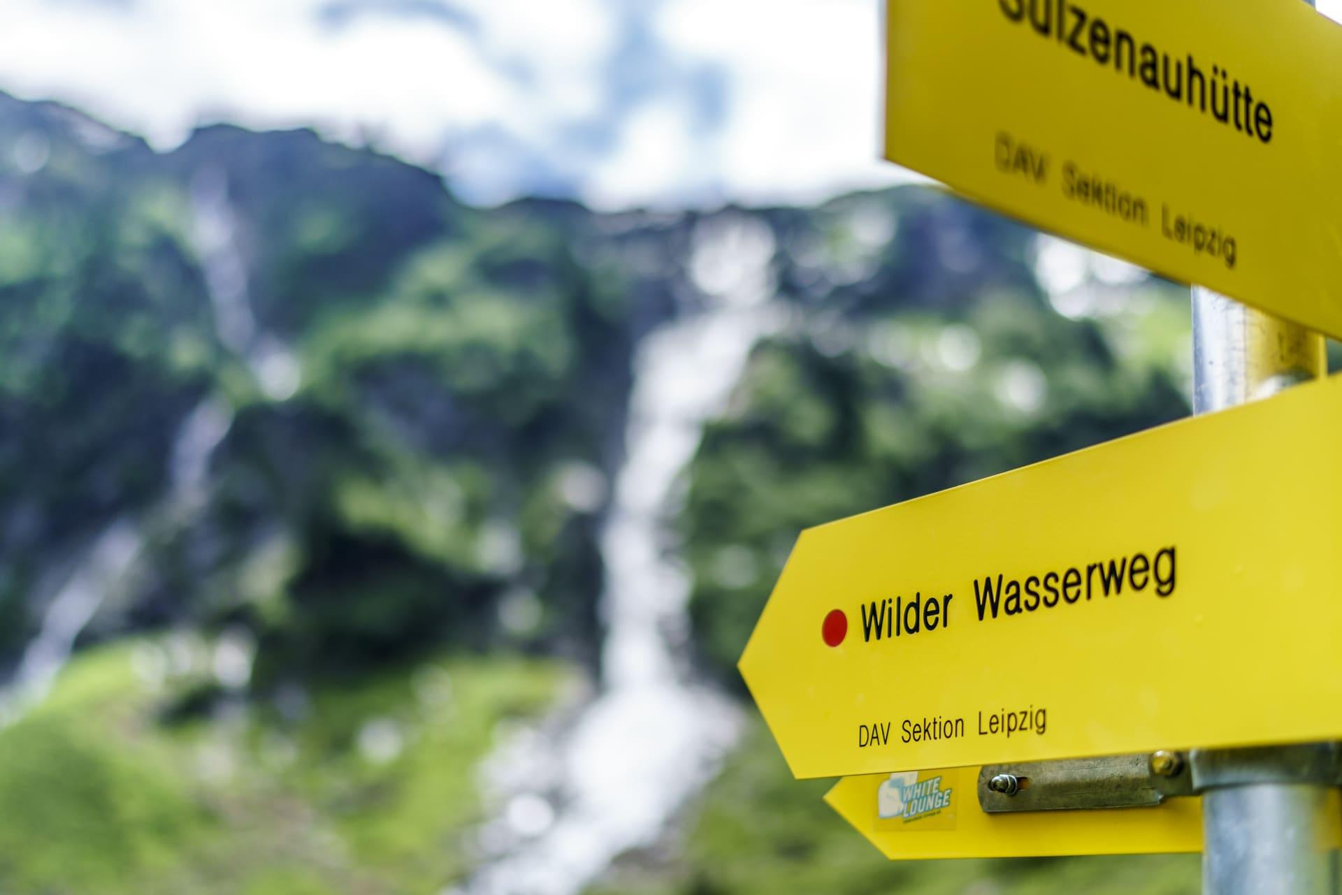 WildeWasserWeg-Signalisation