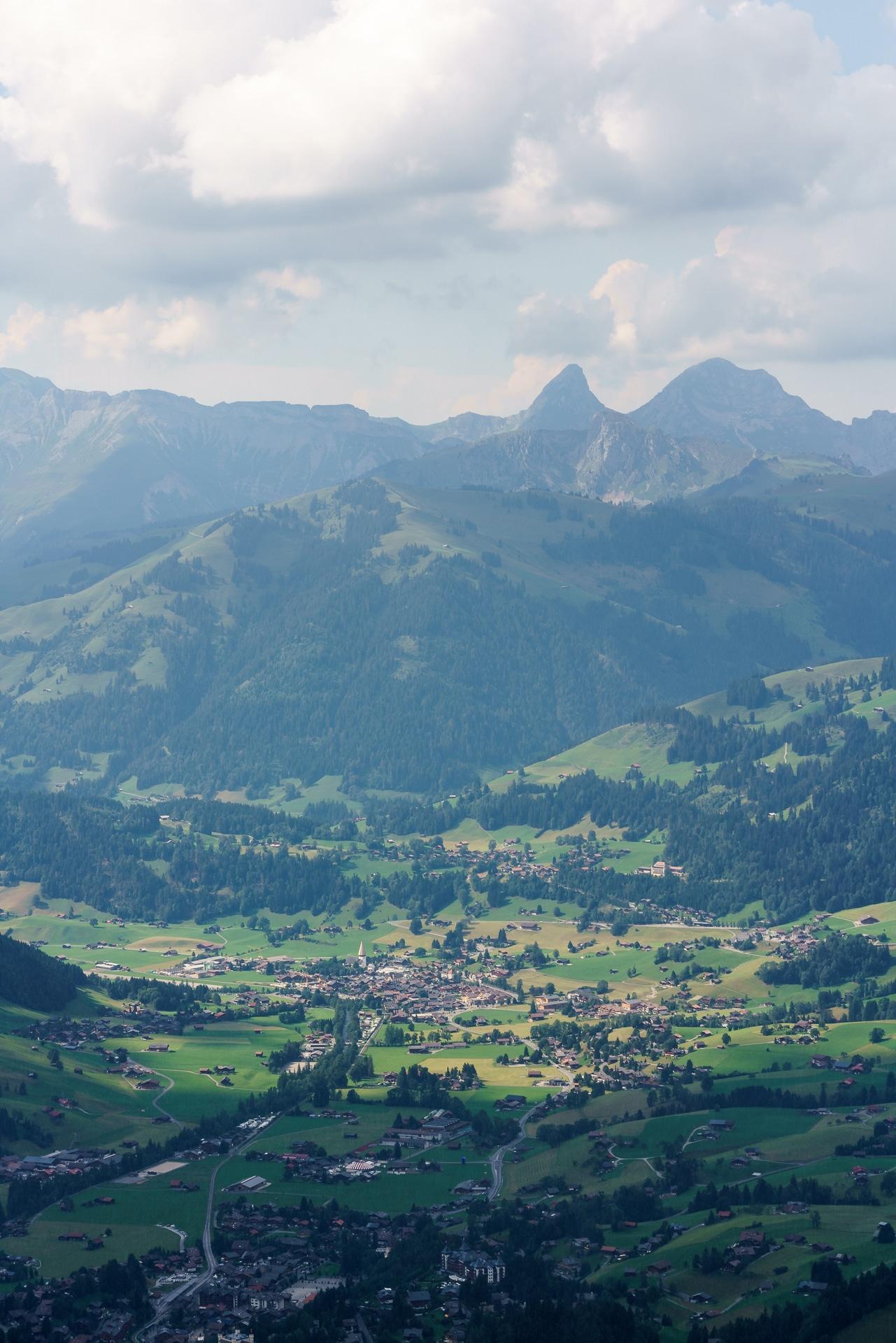Aussicht-Wasserngrat-Gstaad