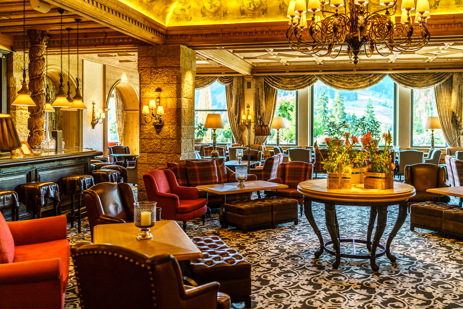 Gstaad Palace Bar