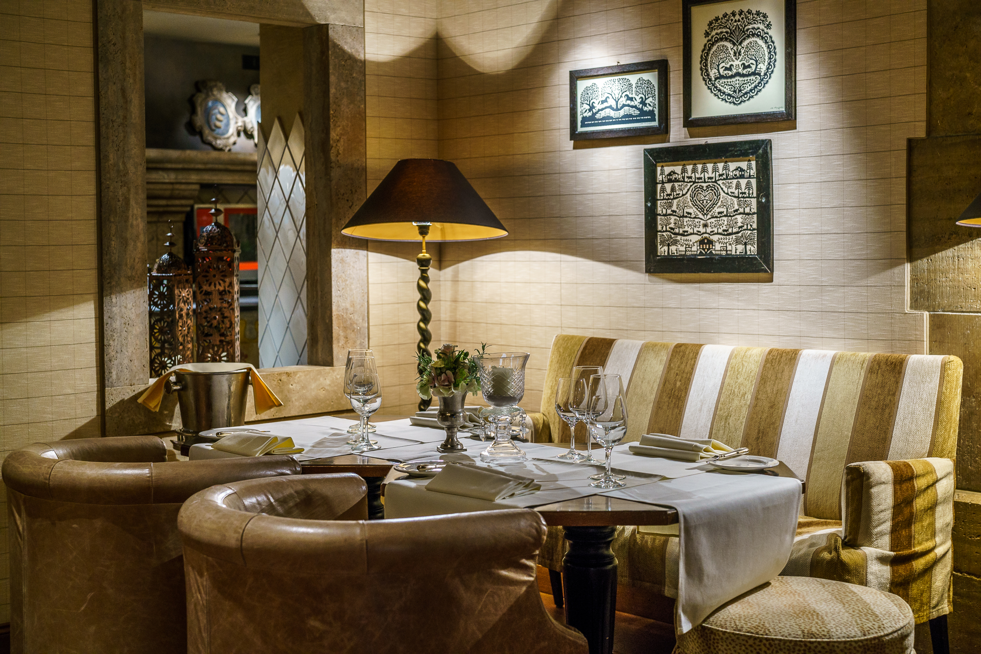 Gstaad Palace Restaurant Grill