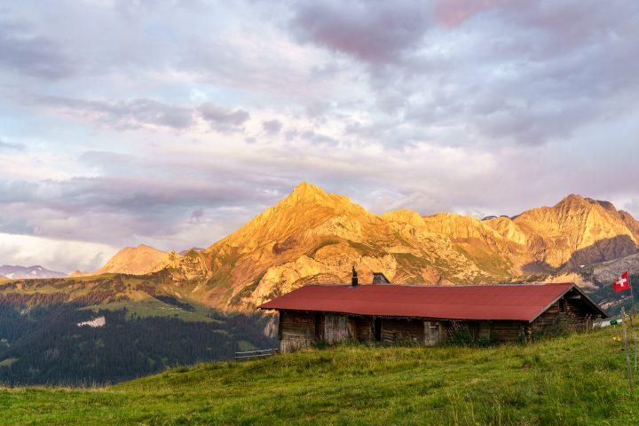 Walig Hütte: urchige Gstaad Palace Dépendance