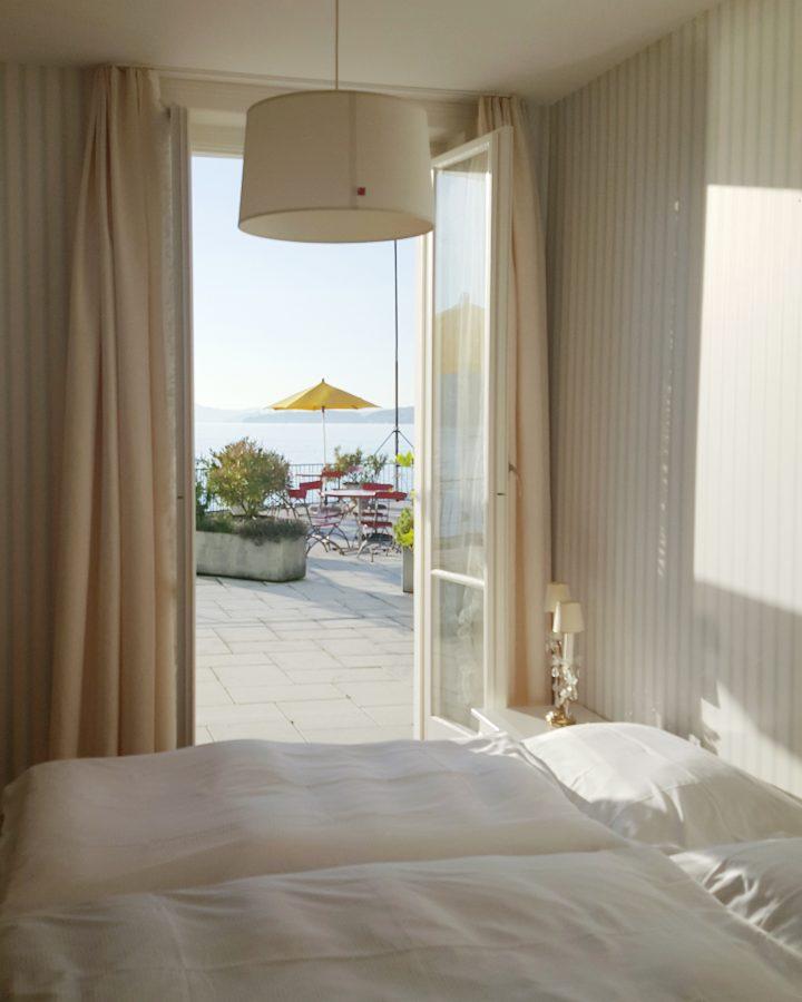 Terrasse am See Vitznau Zimmer