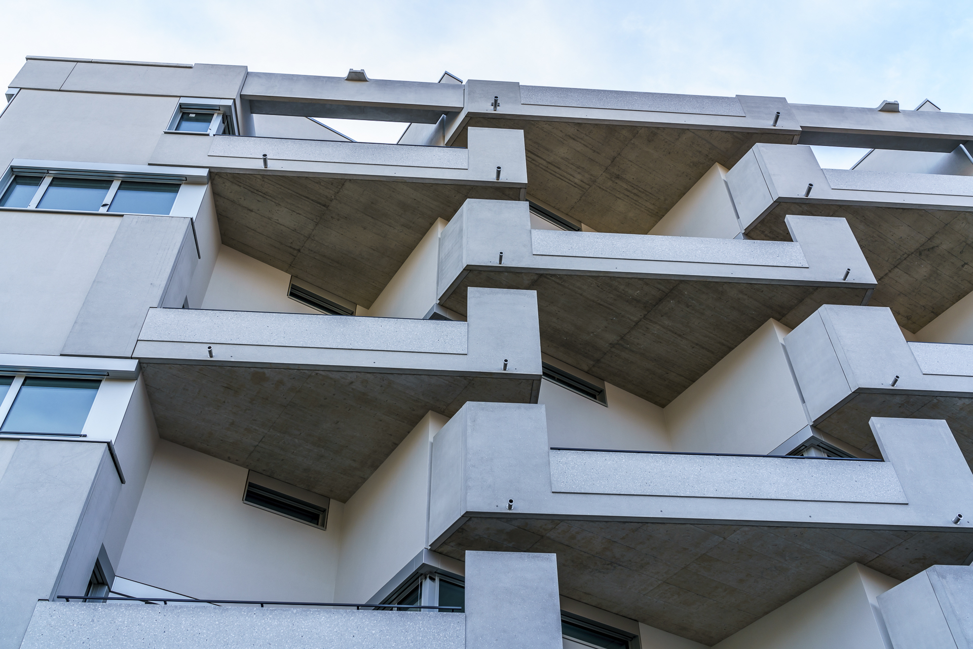 Fassaden Zürich West Detail