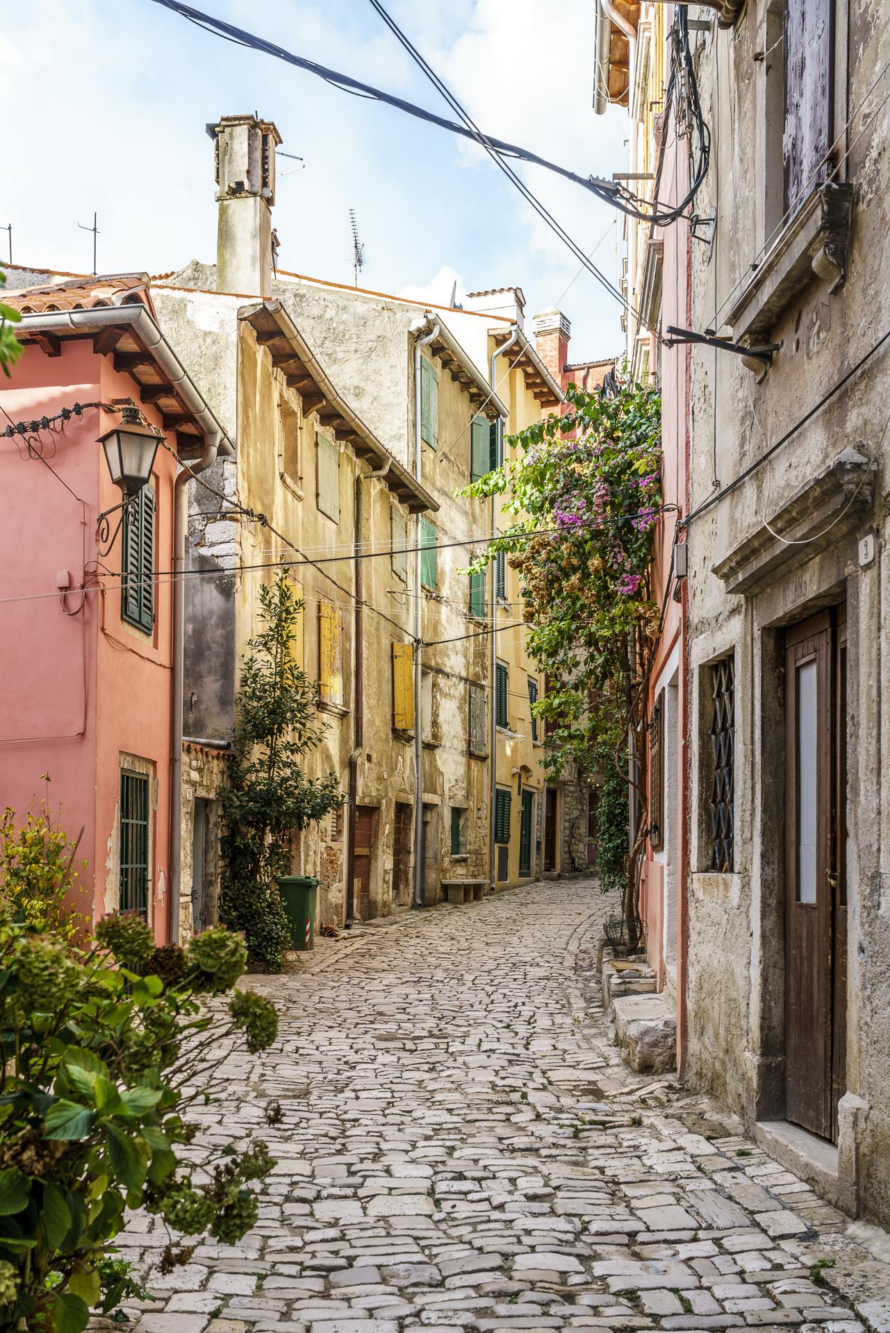 romantische Stadt Rovinj