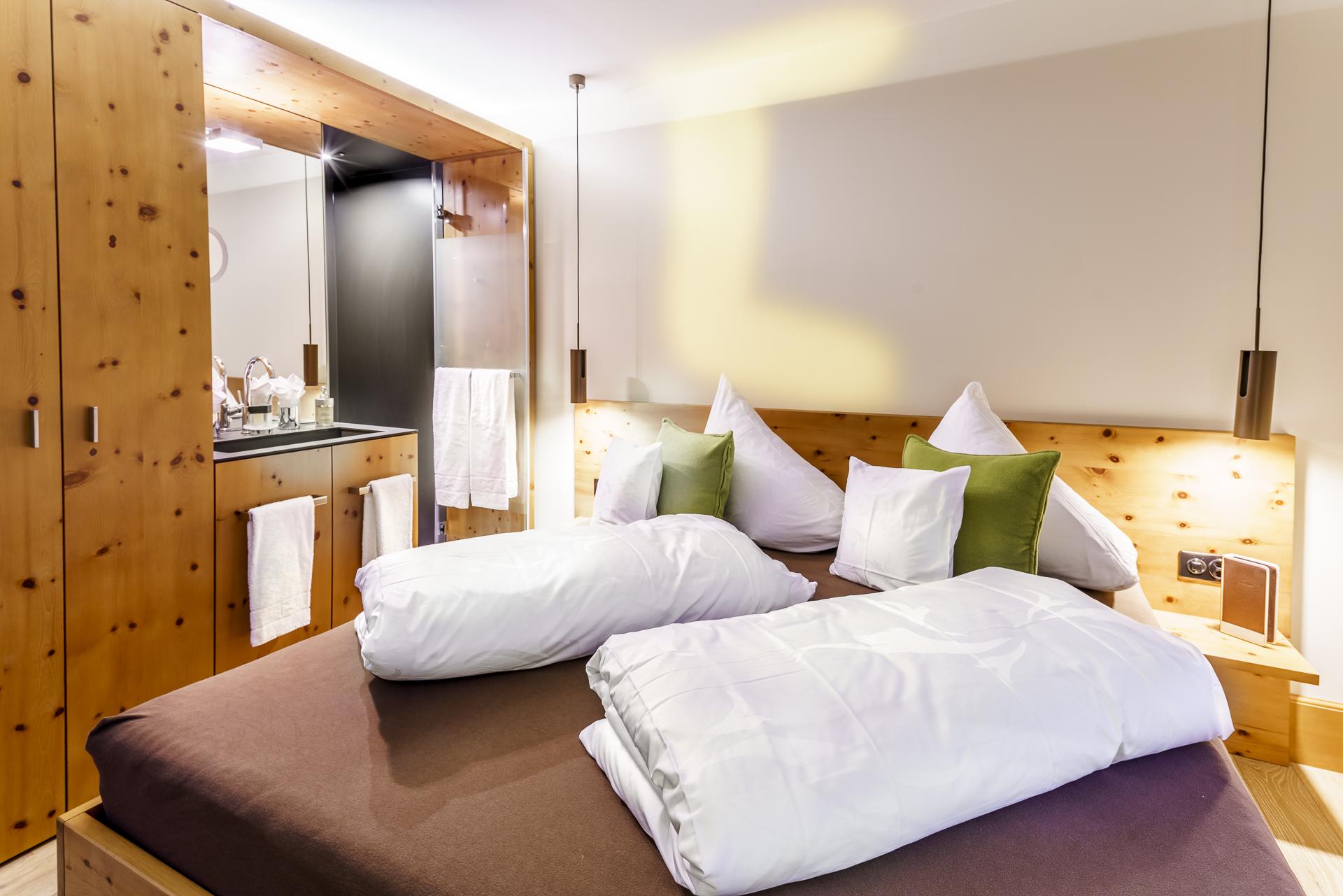 The Alpina Tschiertschen Hotelzimmer