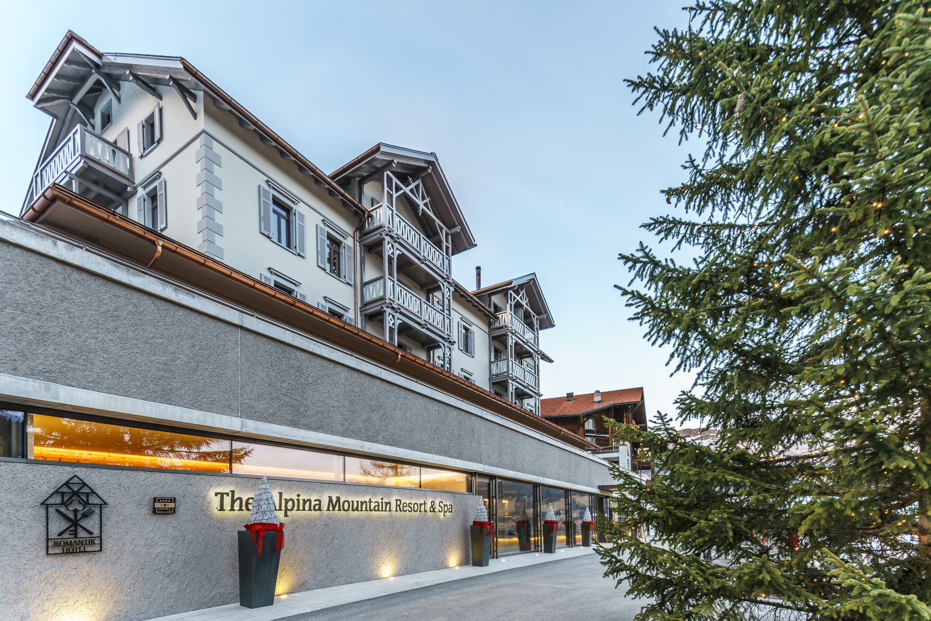 Tschiertschen The Alpina Mountain Resort and Spa