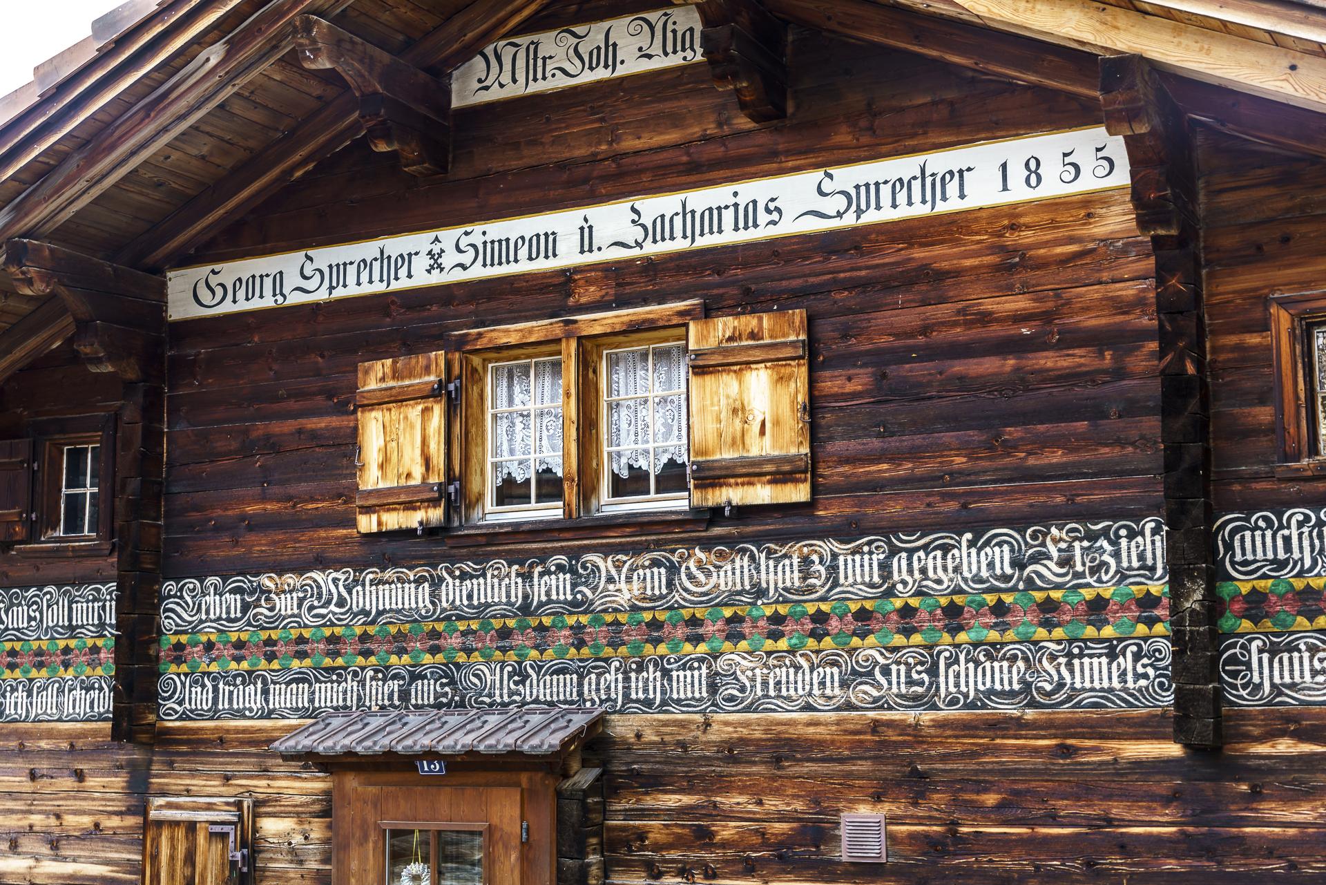 Walserhaus Tschiertschen
