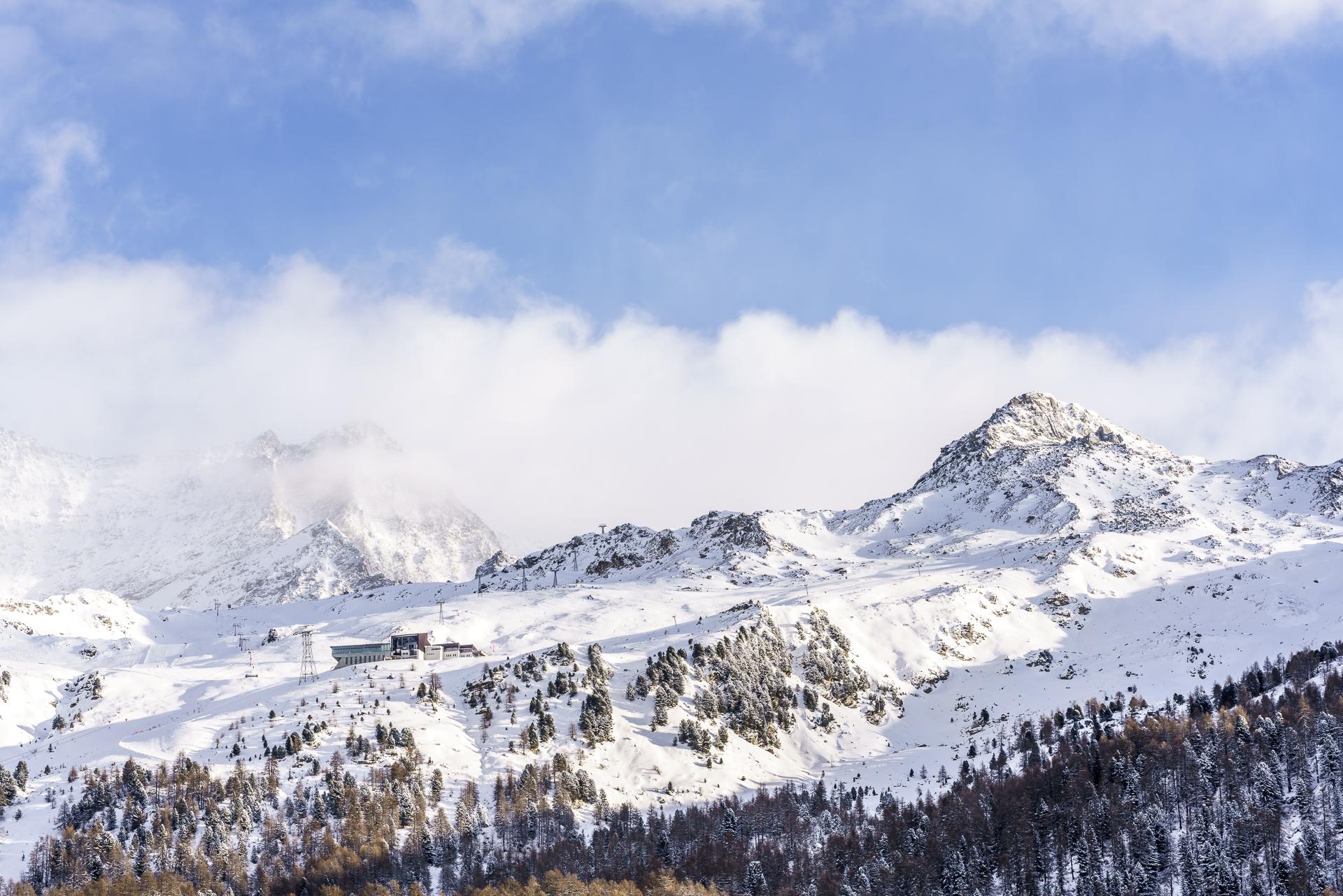 Corvatsch Skigebiet
