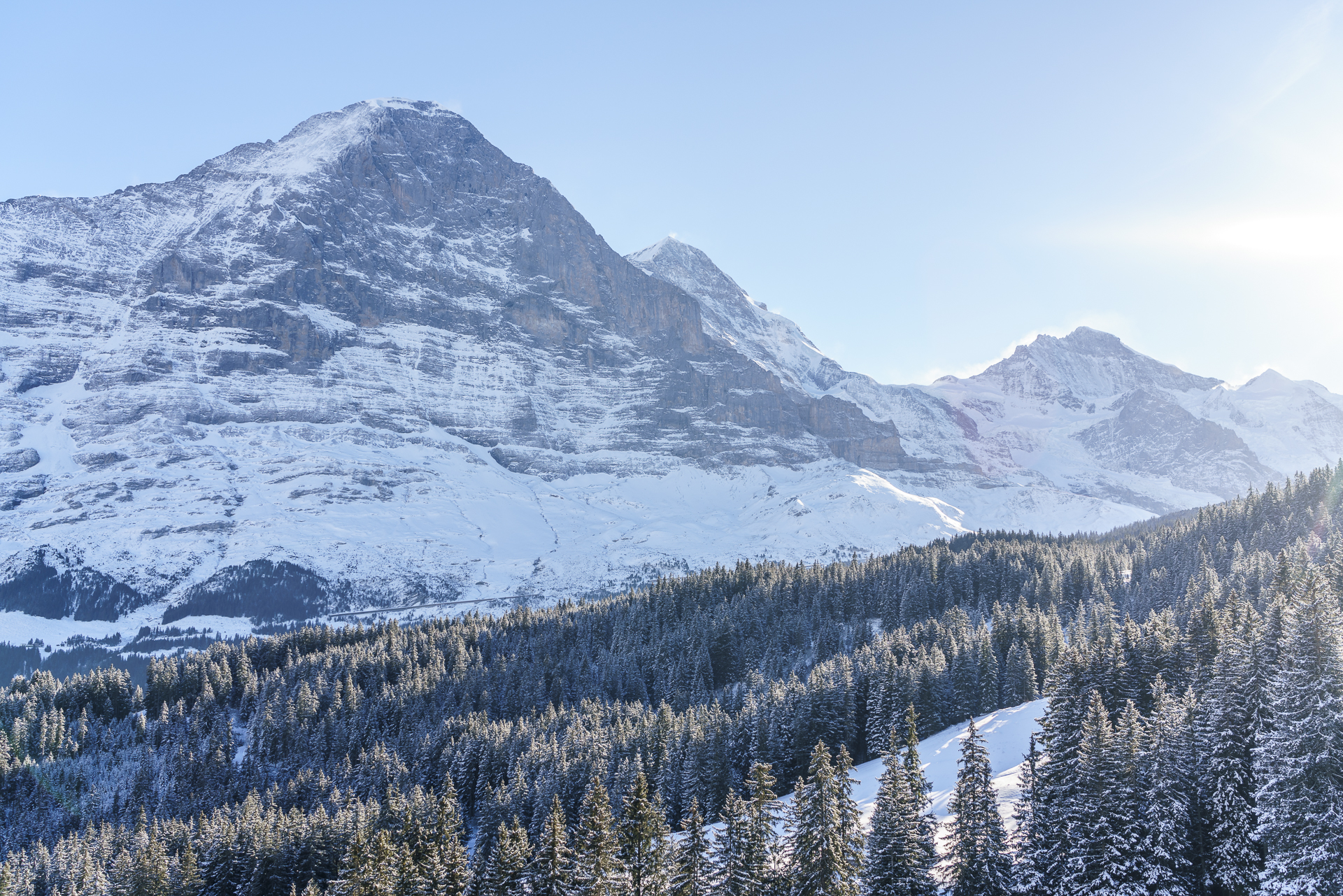 Eigernordwand Kleine Scheidegg