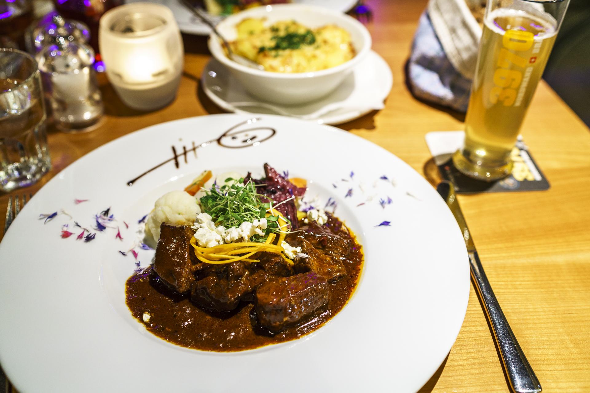 Grindelwald Cafe 3692 Abendessen