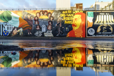 Belfast International Wall
