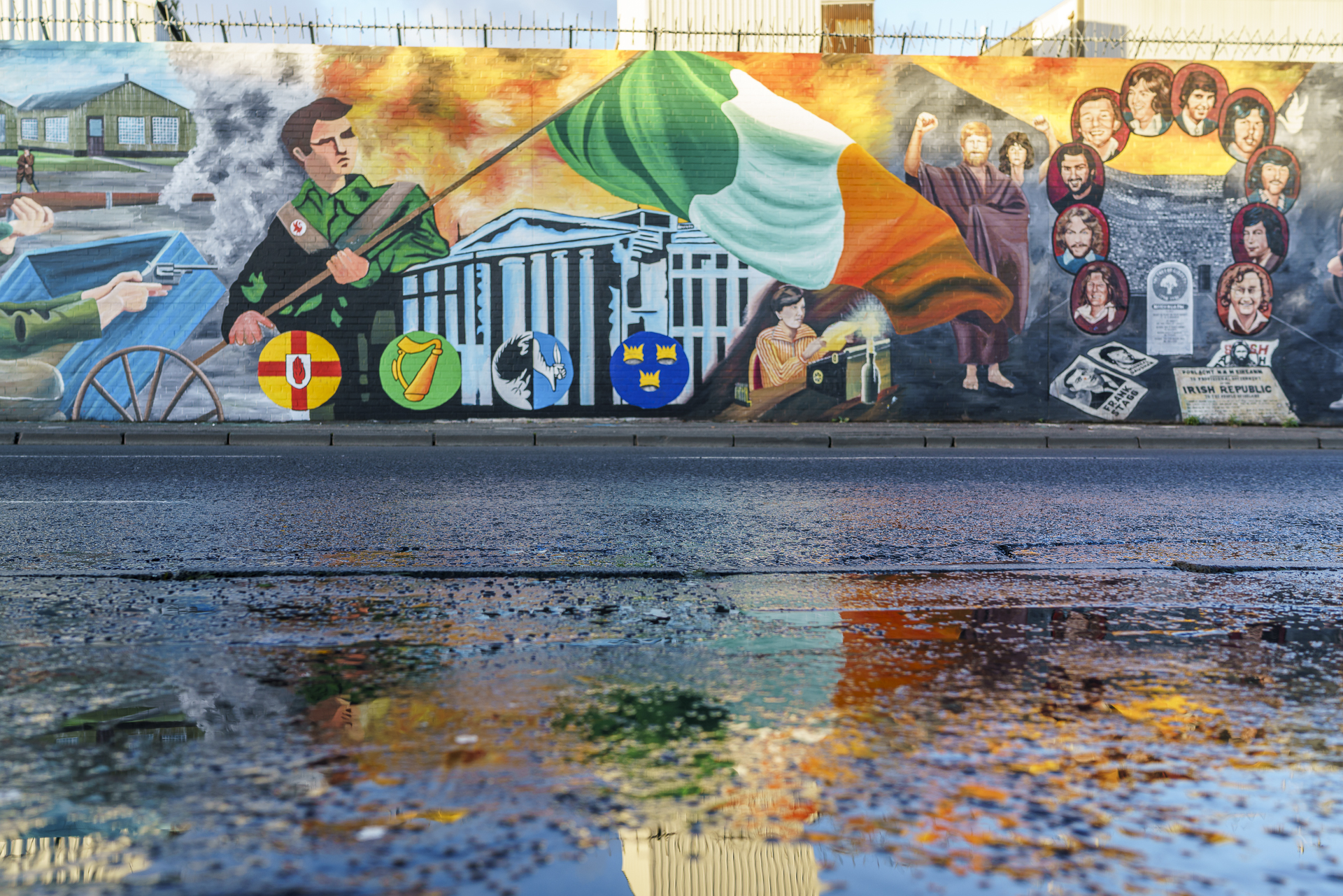 International Wall Belfast Murals