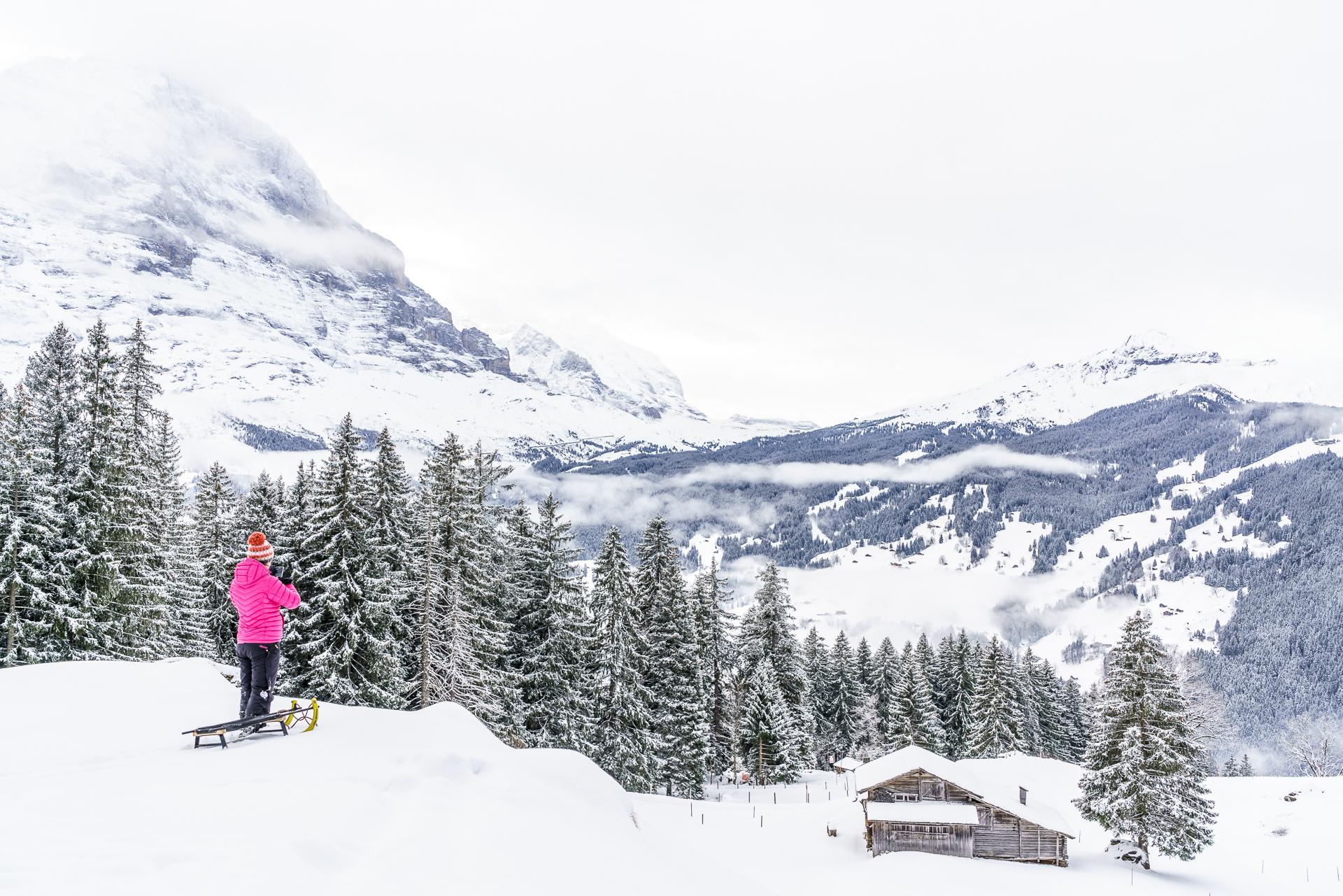 Schlitteln Grindelwald
