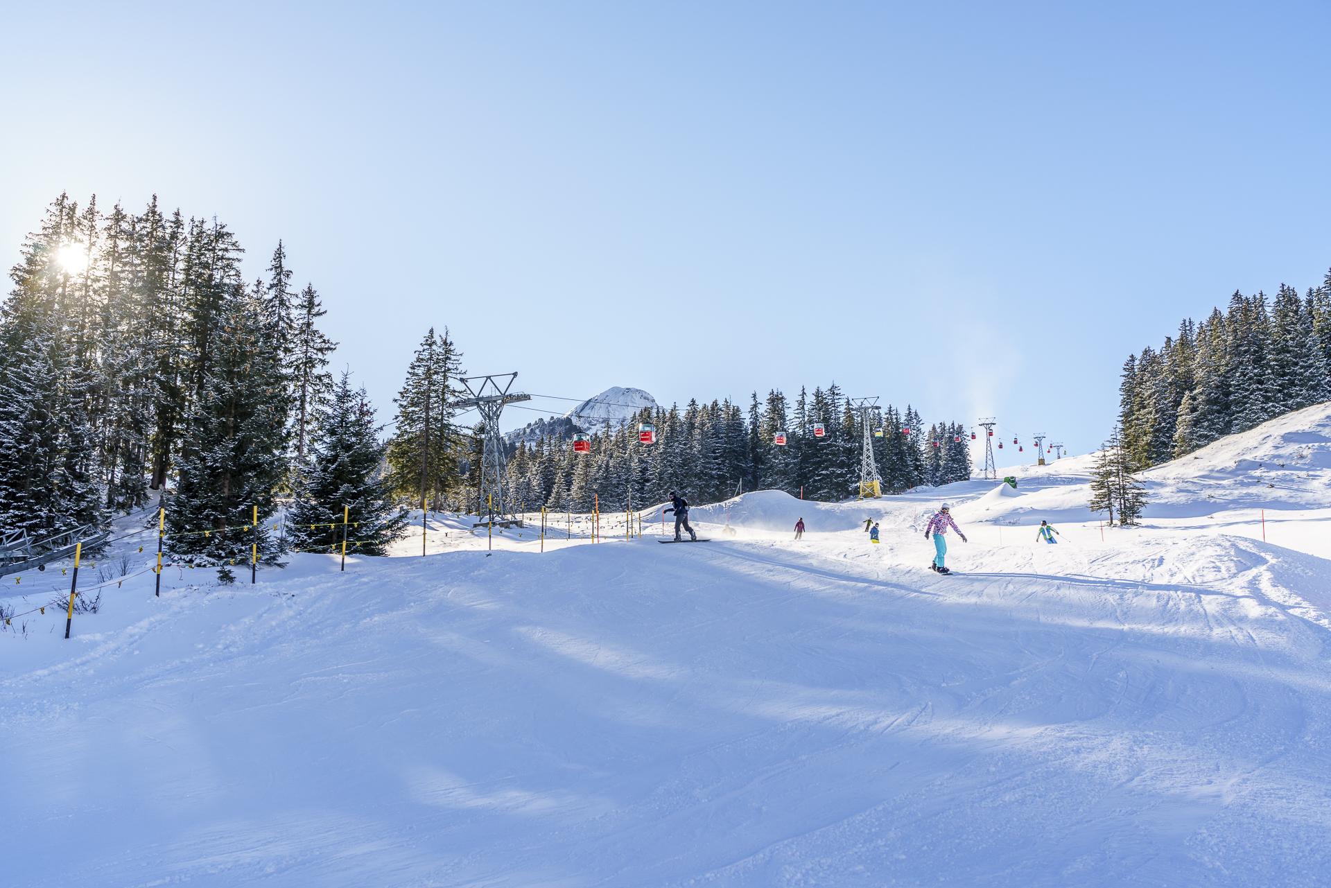 Skigebiet Maennlichen Kleine Scheidegg