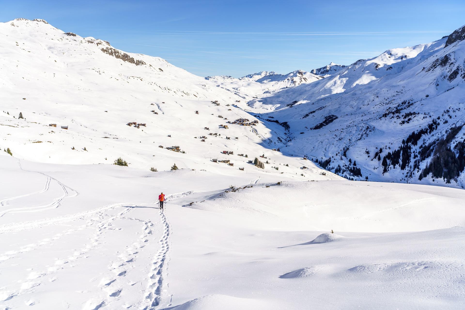 Fondei Schneeschuhtour