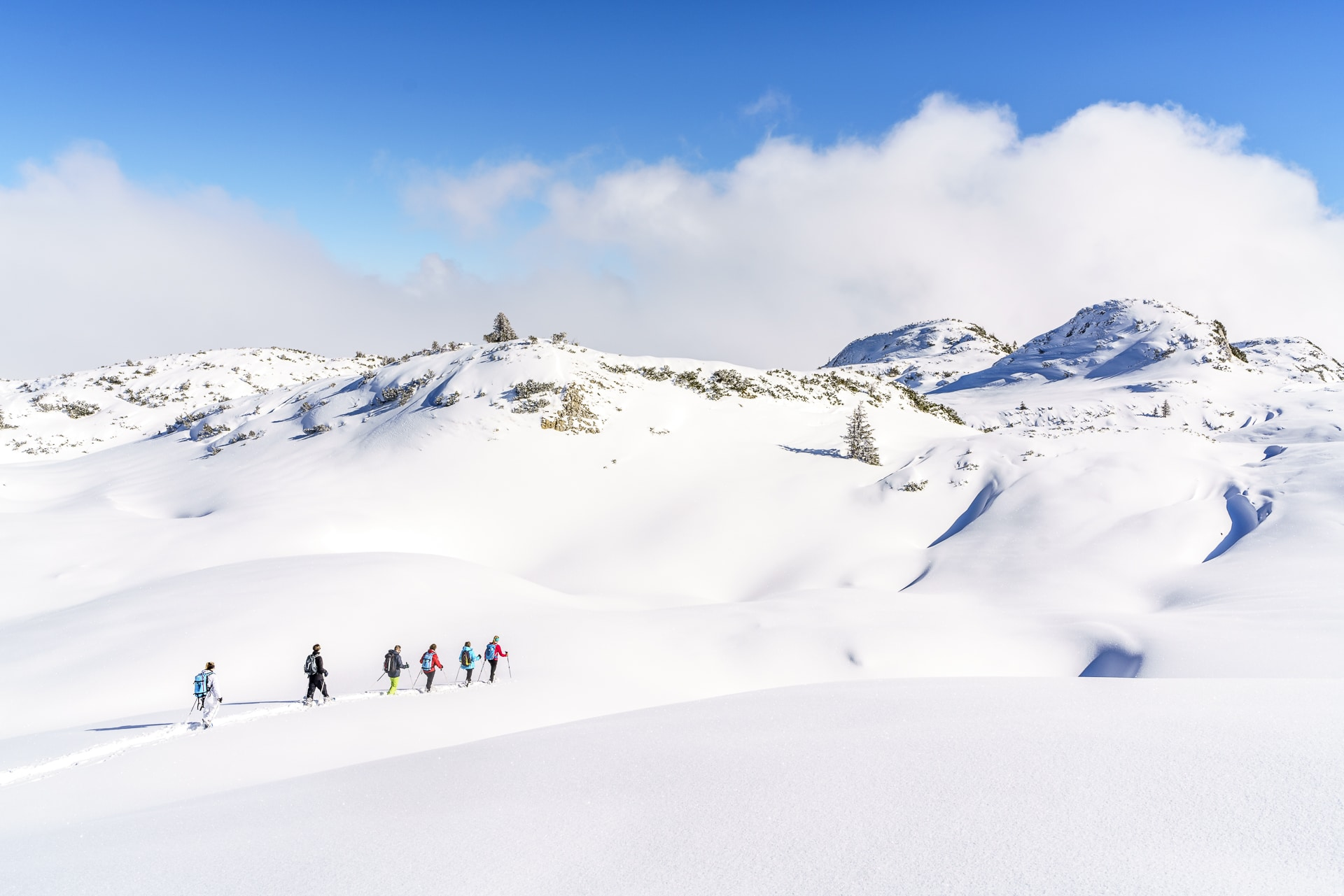 Gottesacker Schneeschuhwandern