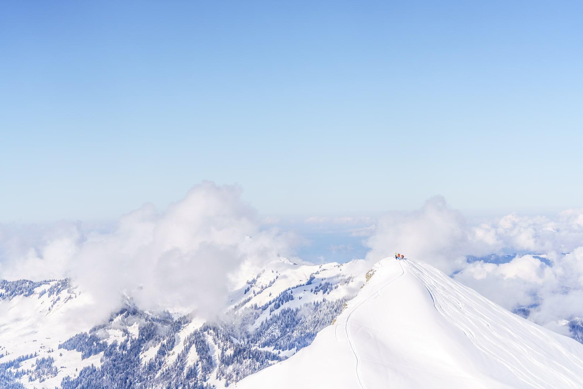 Kleinwalsertal Skitouren