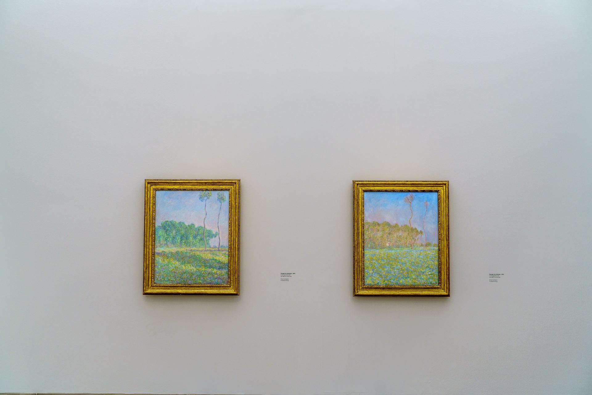 Monet Ausstellung Fondation Beyeler