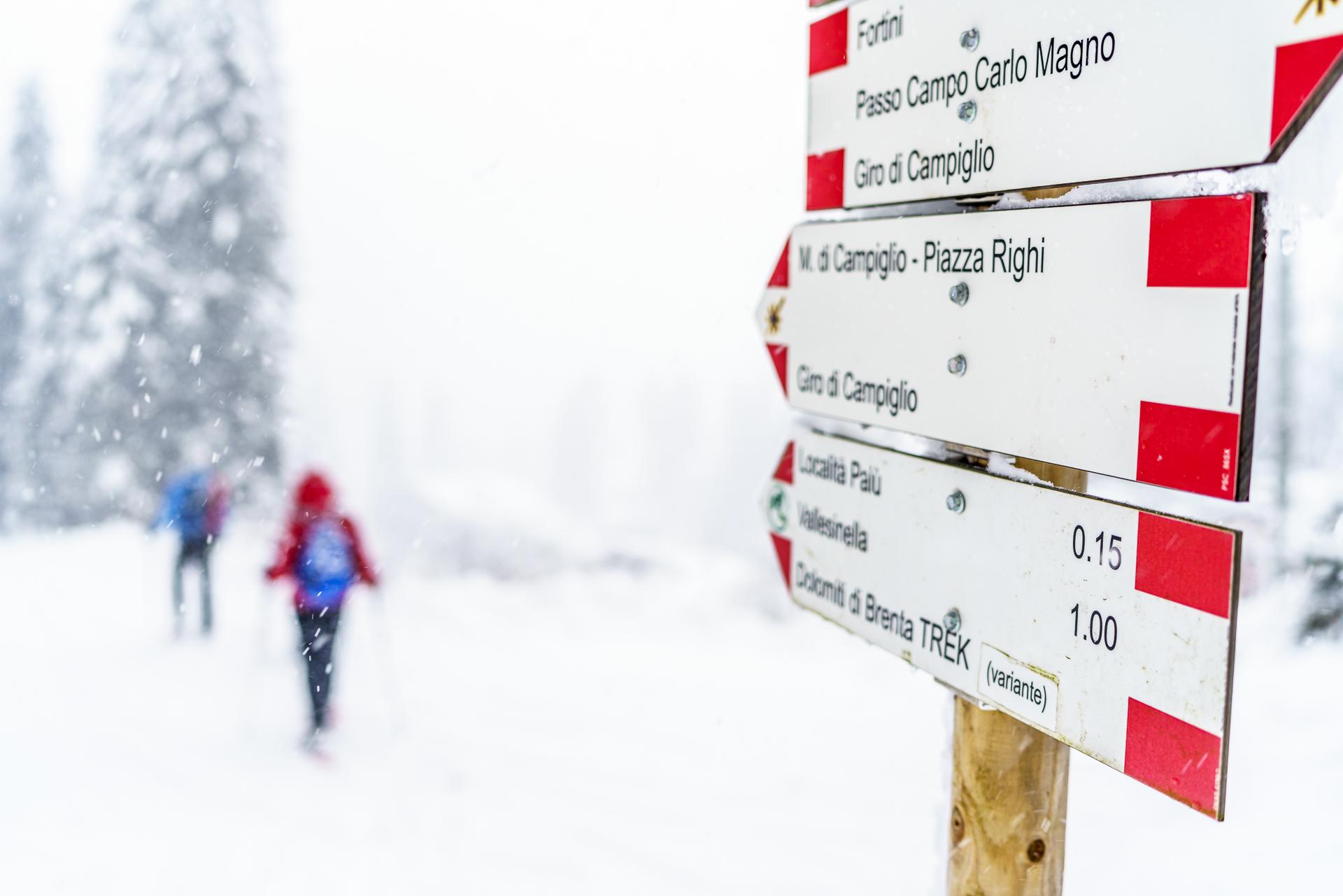 Schneeschuhlaufen Trentino
