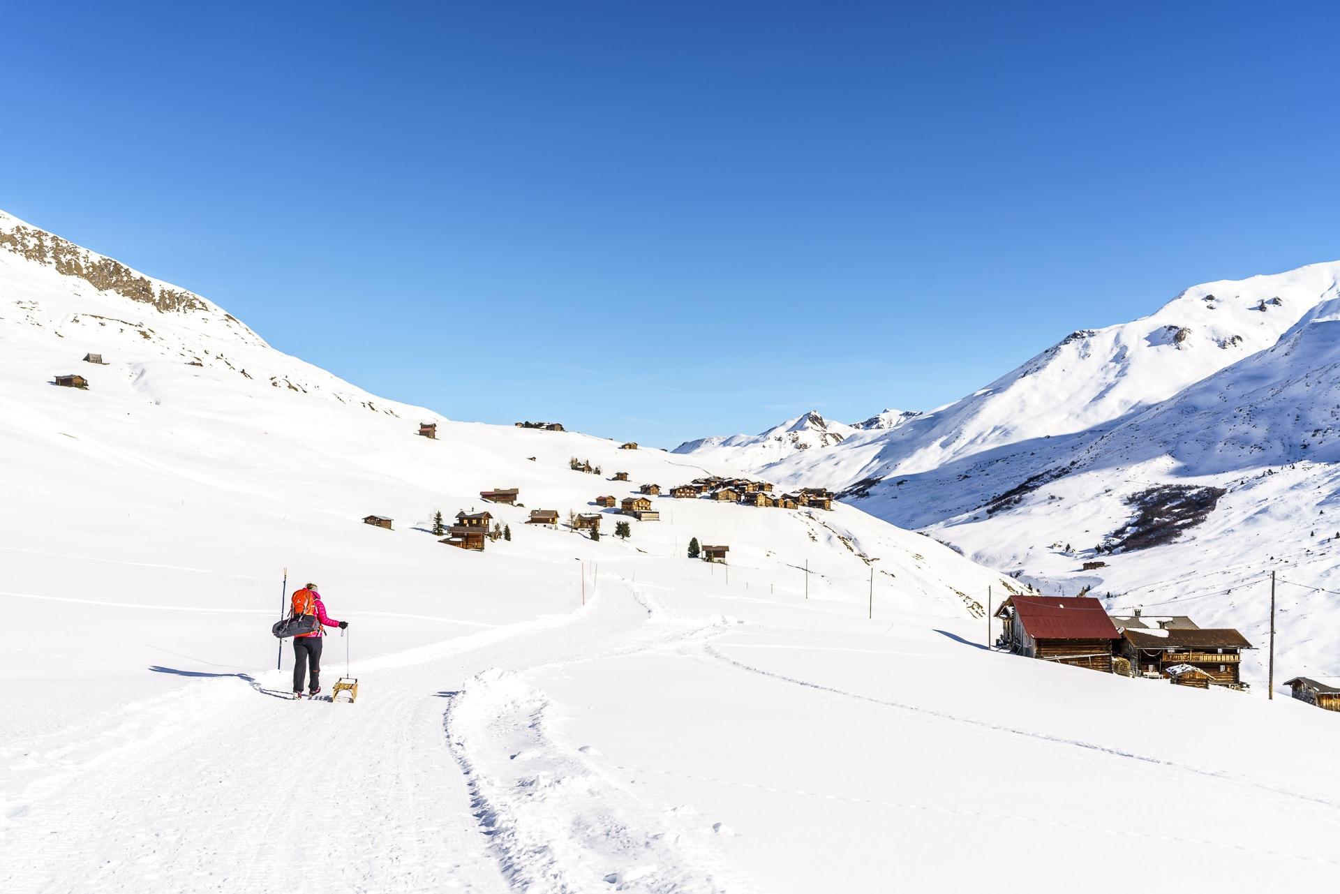 Schneeschuhtour Fondei Schanfigg
