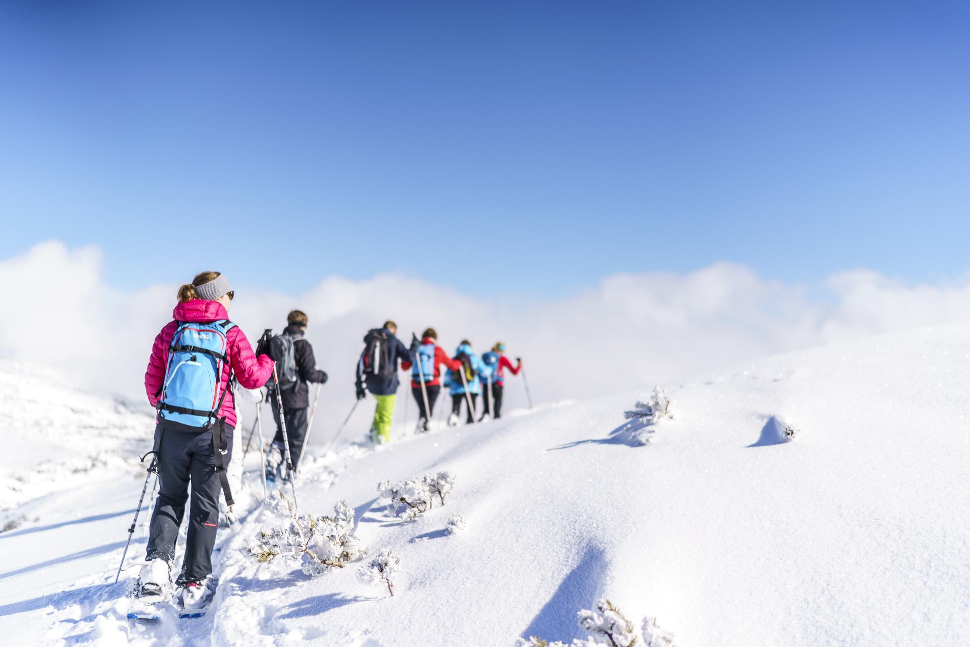 Schneeschuhtour Gottesacker Ifen