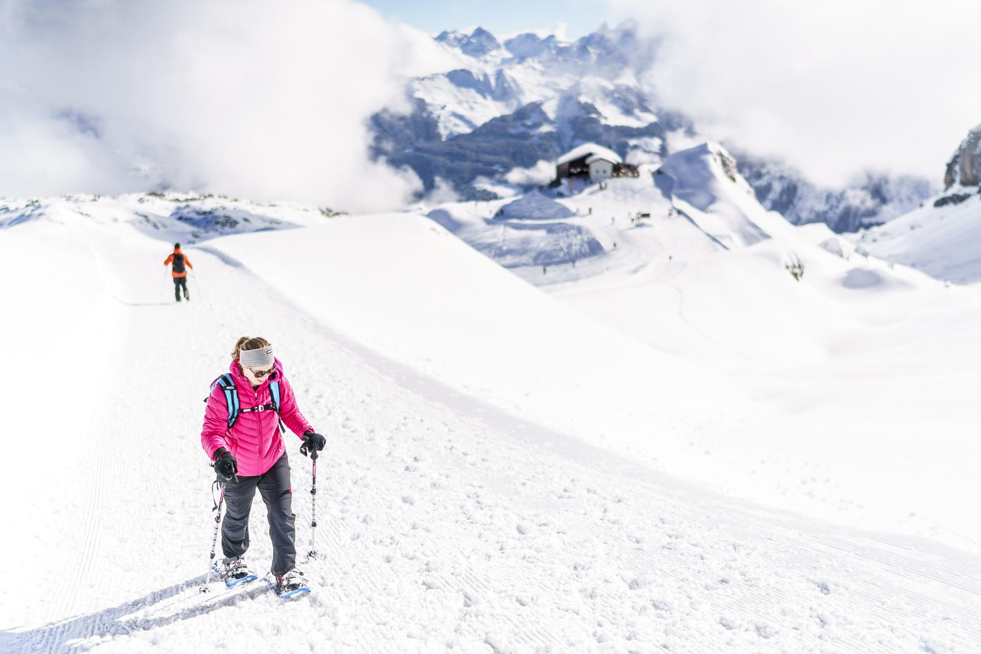 Schneeschuhtour Ifen Gottesacker
