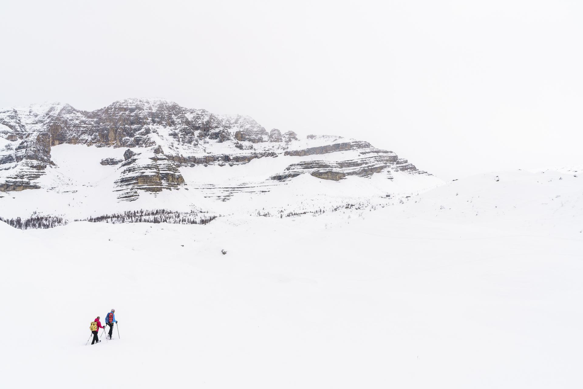 Schneeschuhtour Monte Spinale