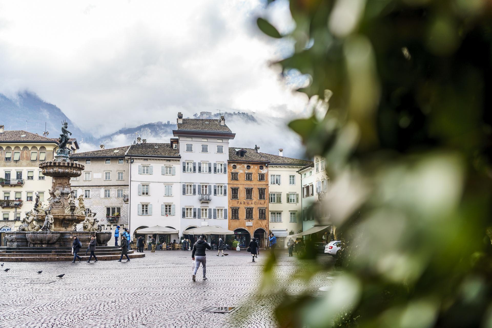 Trentino Provinzhauptstadt Trient