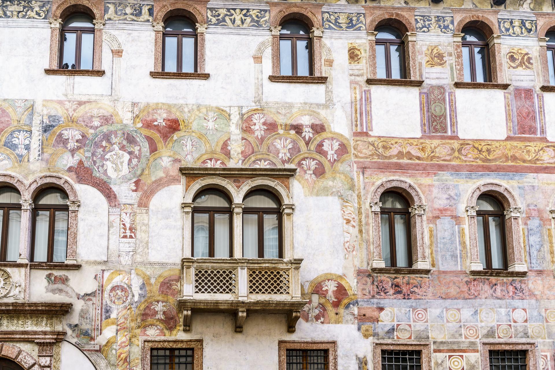 Trient Altstadt Palazzi