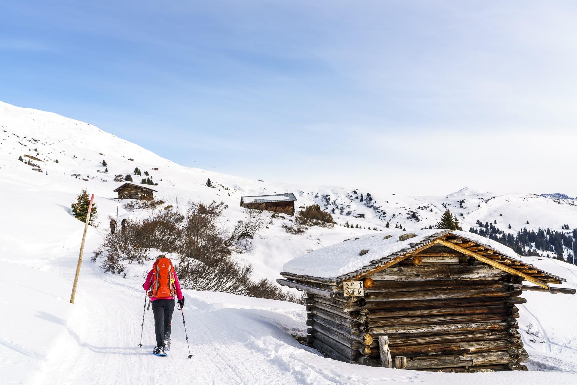 Skigebiet Hochwang Arosa