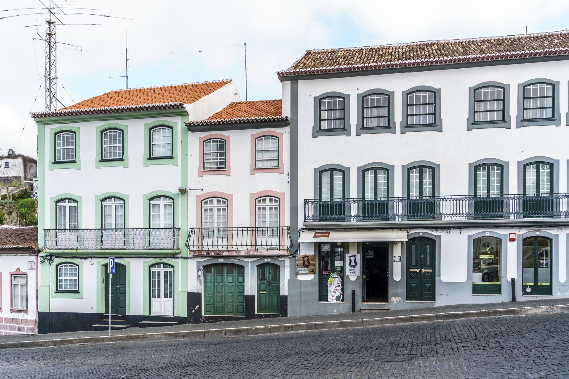 Angra Hauptstadt Terceira