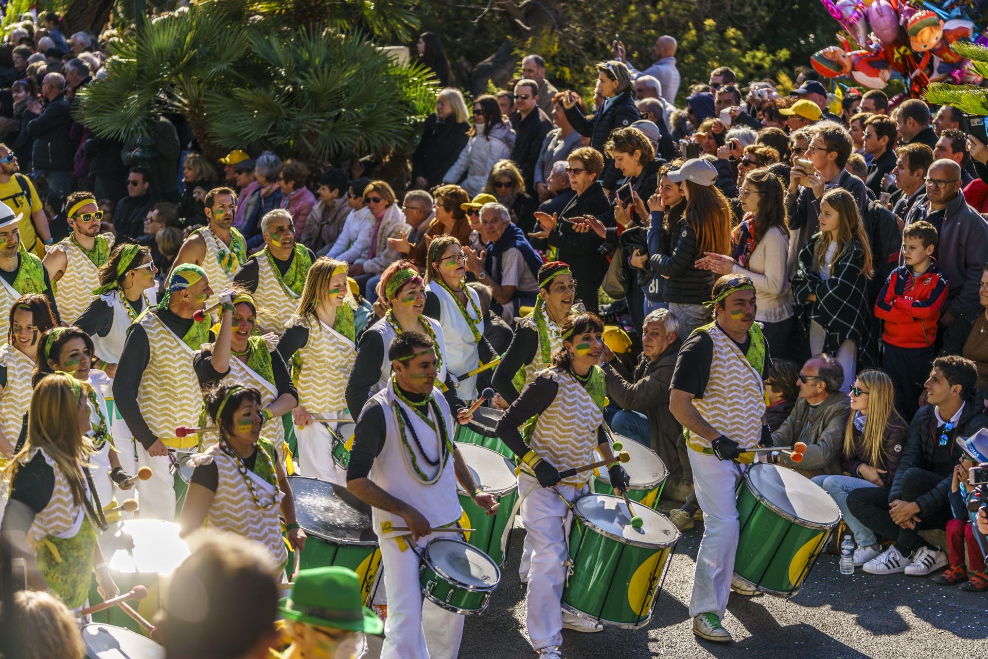 Corso Fleuri Bormes-les-Mimosas Brasilianer