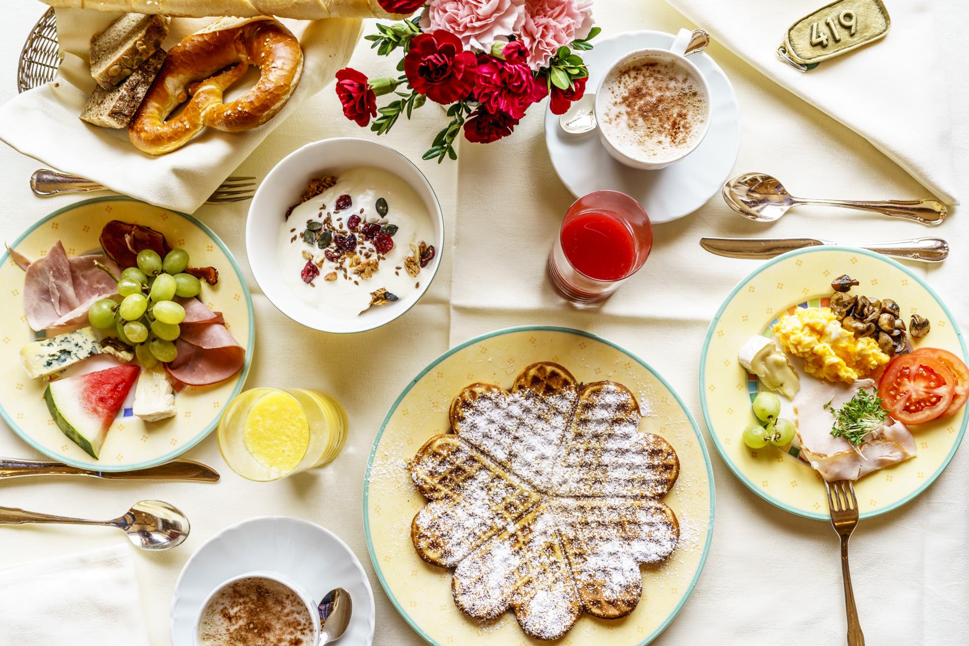 Frühstück Zürserhof