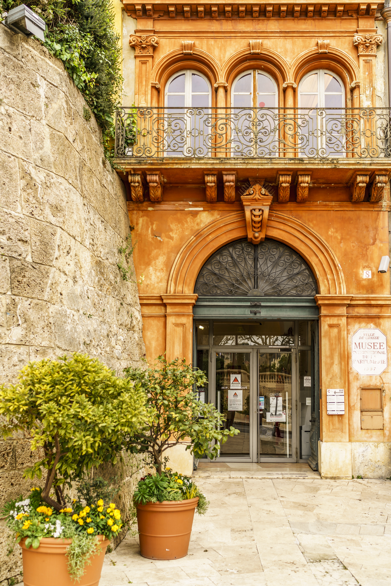 Grasse Eingang Parfümmuseum