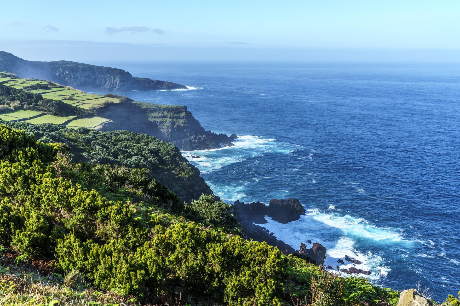 Küste Terceira