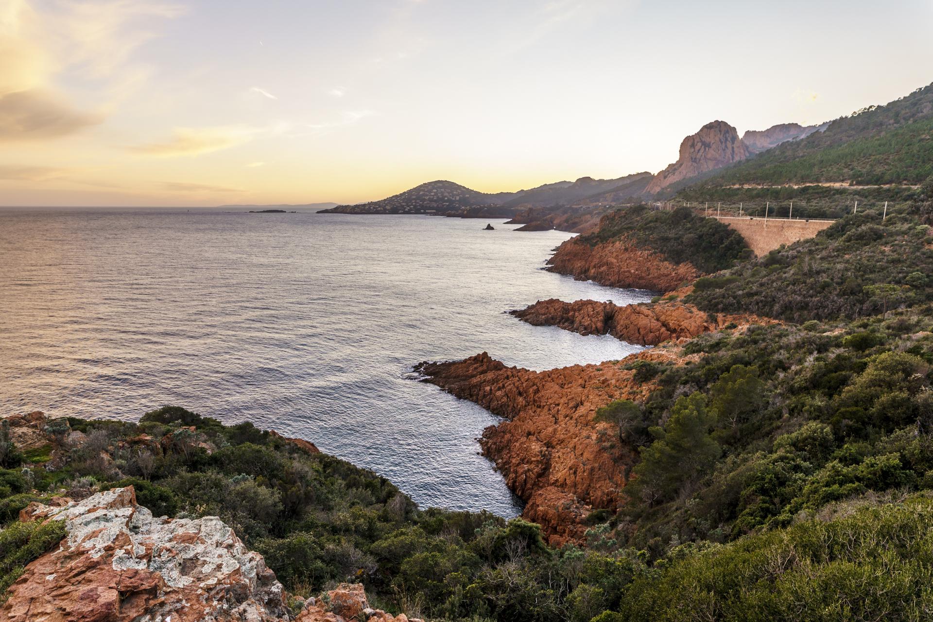 Pointe de l'observatoire Cap Roux