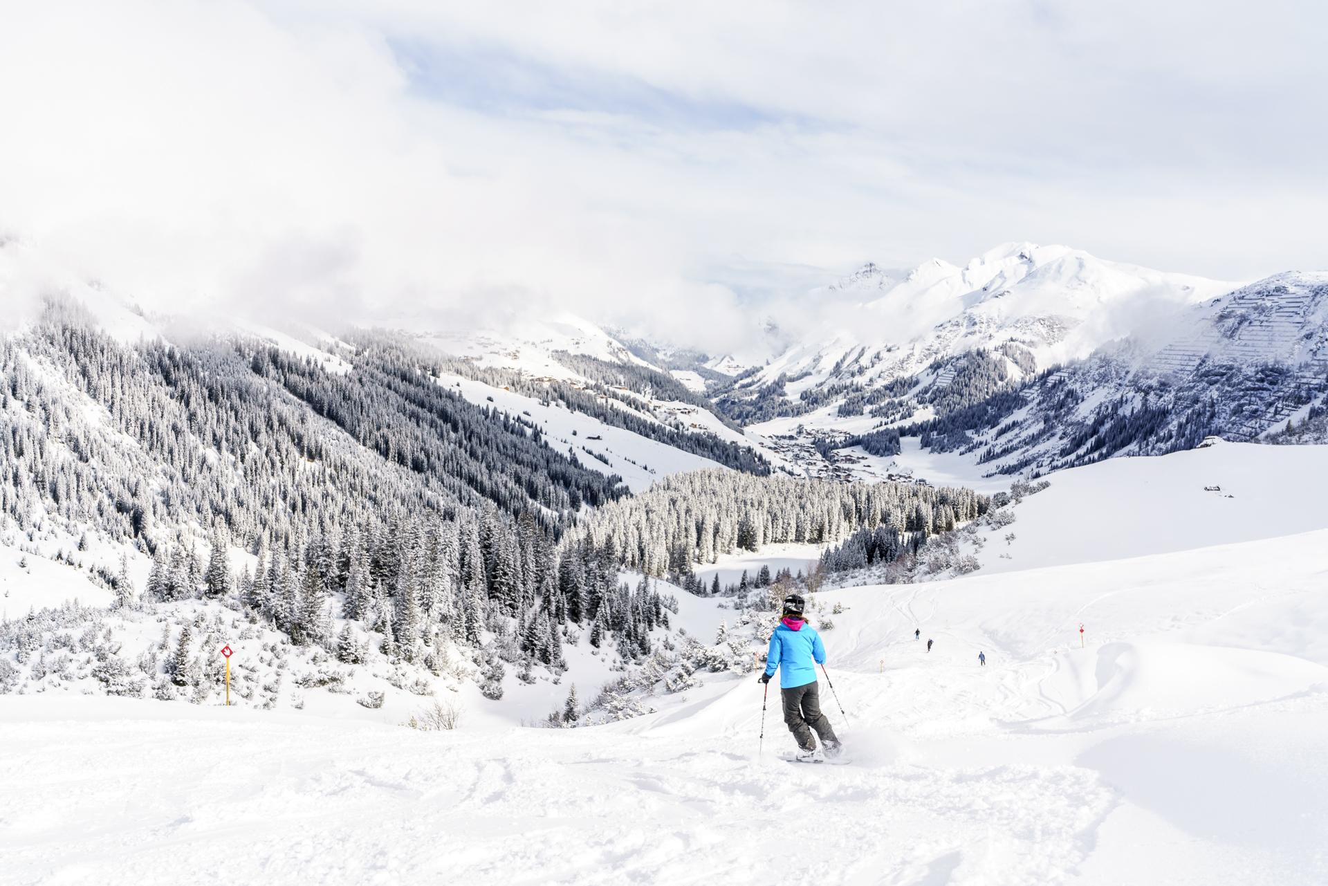 Skigebiet Lech-Zürs-Zug