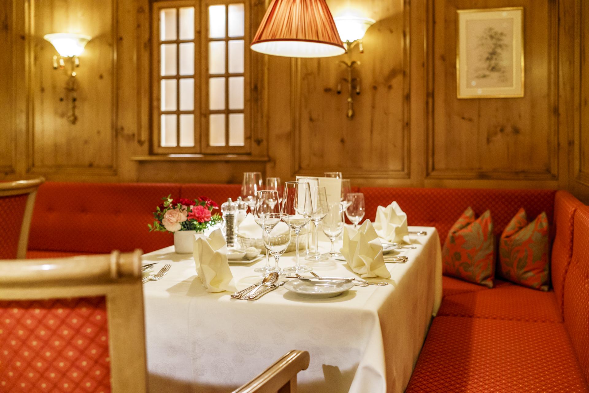 Zürserhof Restaurant Gala Dinner