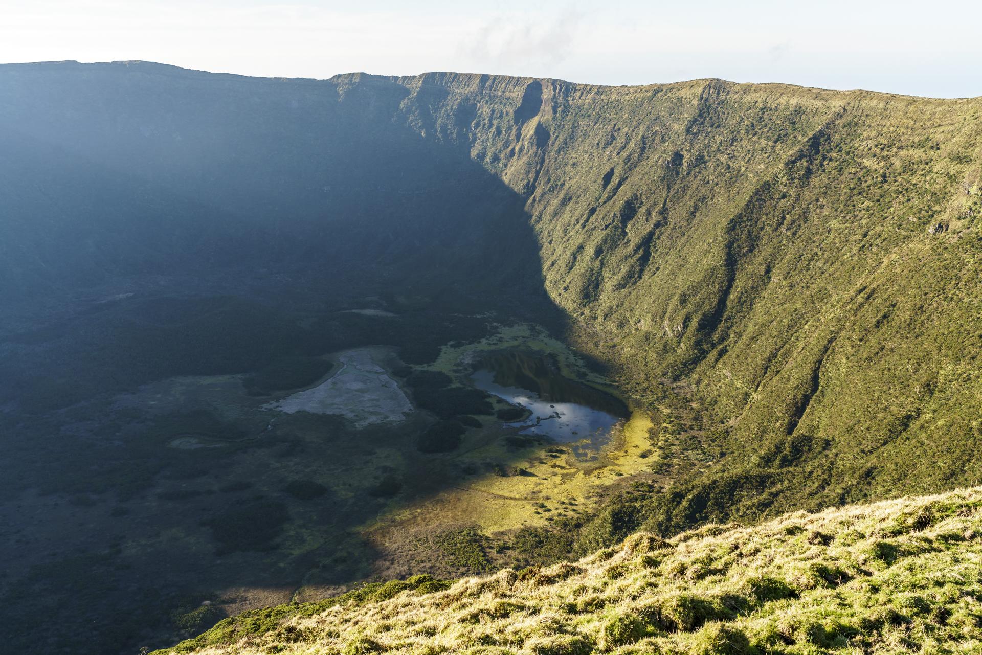 Caldeira Faial Krater