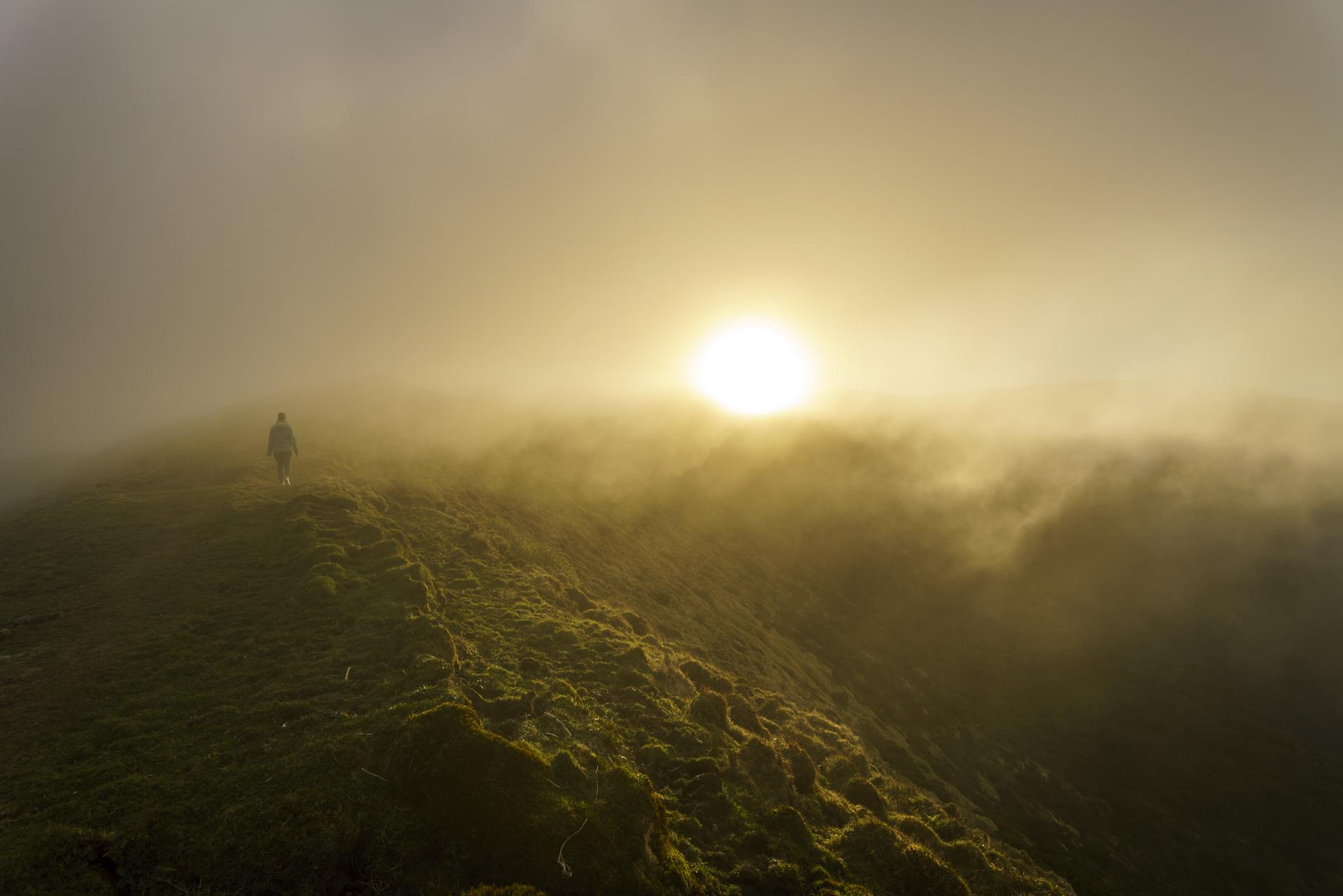 Caldeira Faial Nebel