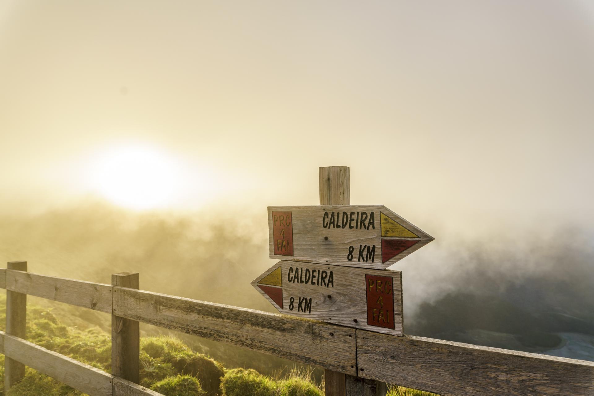 Wanderweg Caldeira Faial