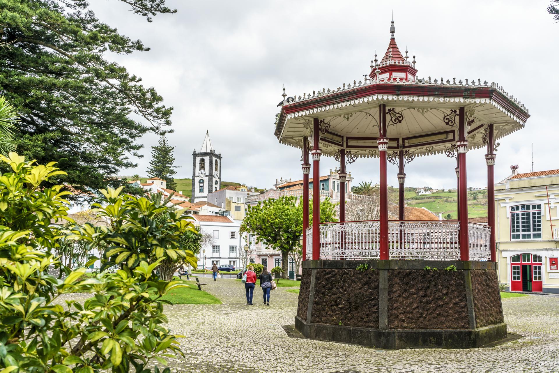 Horta Stadtzentrum