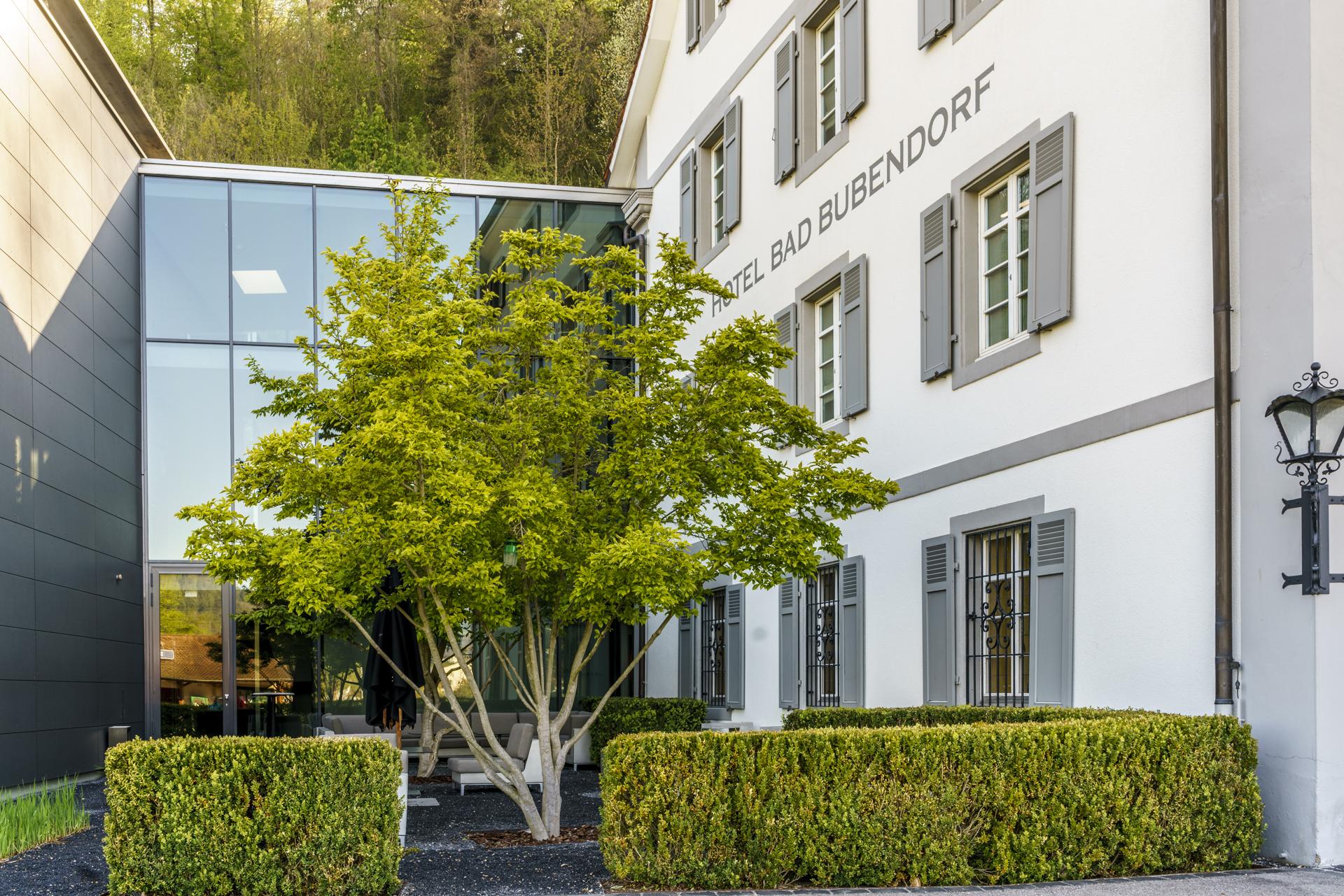 Hotel Bad Bubendorf Garten