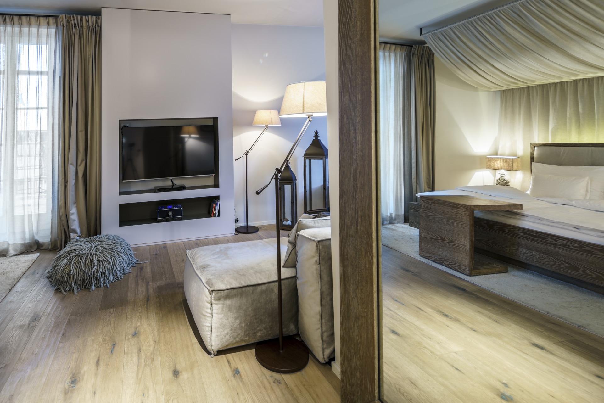 Premium Suite Charming Hotel Bad Bubendorf Ansicht 1